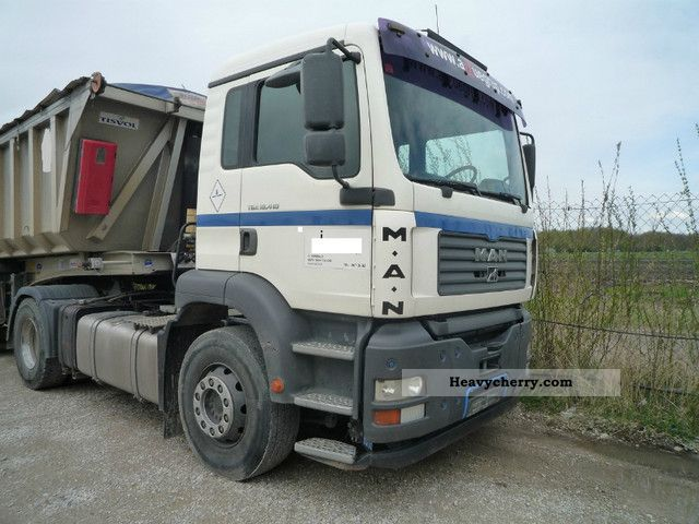 2003 MAN  TGA 18.410 Semi-trailer truck Standard tractor/trailer unit photo