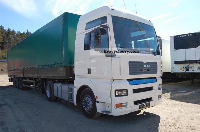 2003 MAN  TGA 18.510 intarder Semi-trailer truck Standard tractor/trailer unit photo