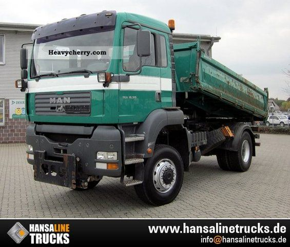 2003 MAN  TGA 18 310 4x4 TRUCK FRONT PAGES 3-PLATE Truck over 7.5t Tipper photo