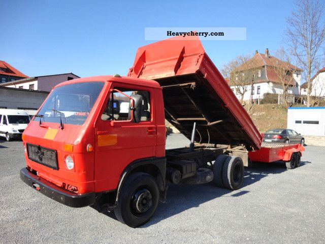 1992 MAN  VW / 10 150 Dreiseitenkipper 1.Hand! Truck over 7.5t Tipper photo