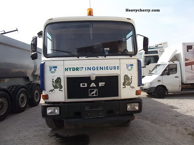 1984 MAN  26 281 6x4 EXPORT AFRICA **** **** Truck over 7.5t Vacuum and pressure vehicle photo