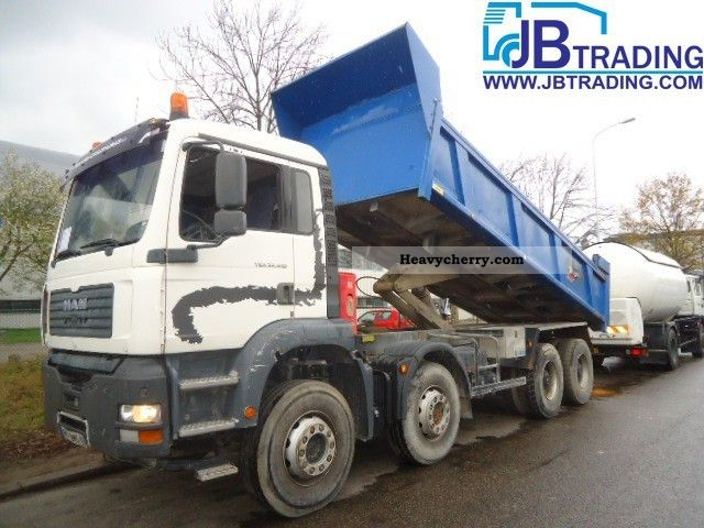 2003 MAN  TGA 410 A Truck over 7.5t Tipper photo