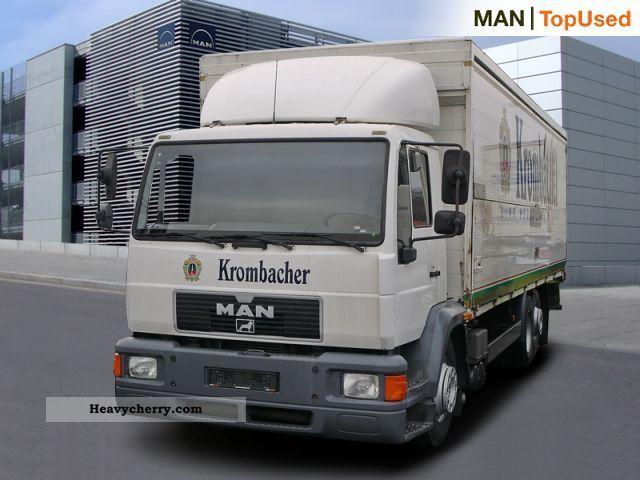 2000 MAN  20 280 FNL, beverage box, steering shaft Truck over 7.5t Beverage photo