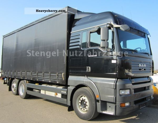 2007 MAN  TGA 26.440 6x2 + Tautliner LBW 2 to LASI 12642 XL Truck over 7.5t Beverage photo