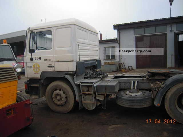 1992 MAN  19-372 c.siodłowy Semi-trailer truck Standard tractor/trailer unit photo
