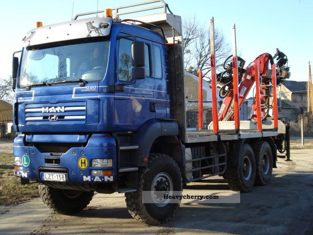 2005 MAN  TGA 33 430 + 10 Z PENZ Truck over 7.5t Timber carrier photo