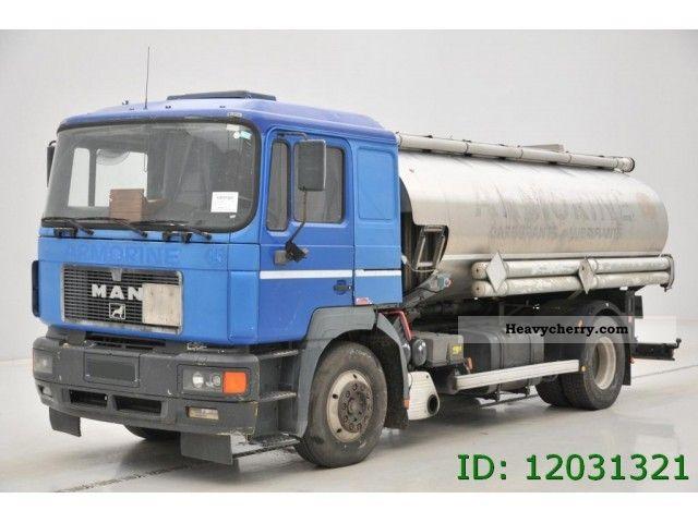 1996 MAN  19 403 Truck over 7.5t Tank truck photo