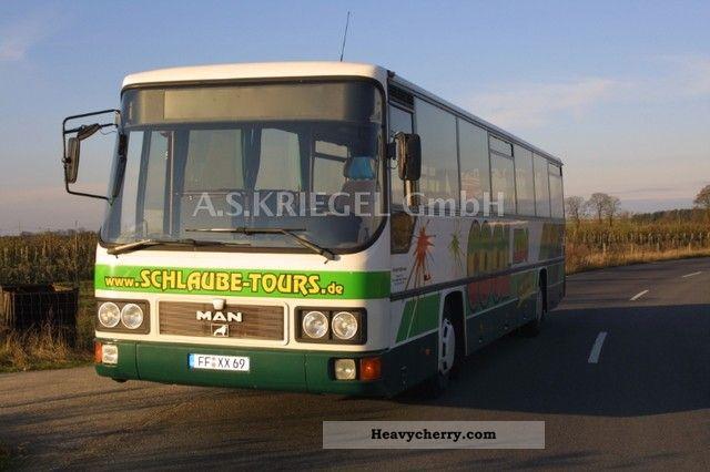 1992 MAN  UEL 292 TOP COACH bus! Coach Cross country bus photo