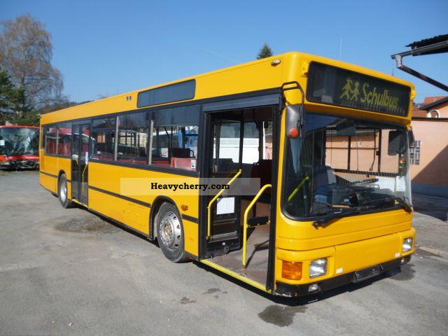 1992 MAN  NL 202 Coach Public service vehicle photo