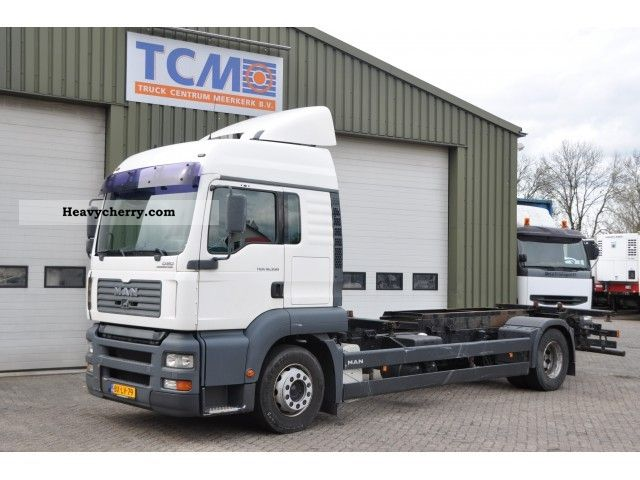 2005 MAN  TGA 18.350 2005 Truck over 7.5t Chassis photo