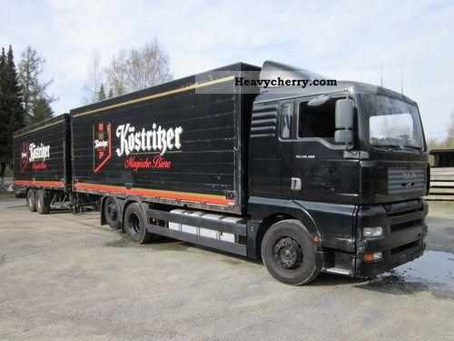 2002 MAN  26 460 Getränkekomplettzug with retarder Truck over 7.5t Beverage photo