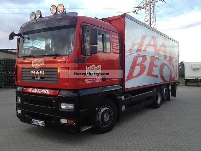 2005 MAN  € 4 green badge!, VDI 2700 certificate! Truck over 7.5t Beverage photo