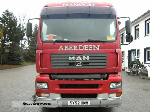 2003 MAN  TGA 26.463 Semi-trailer truck Volume trailer photo