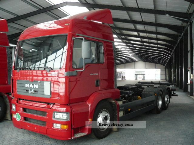2005 MAN  TGA-390 6X2 Truck over 7.5t Chassis photo
