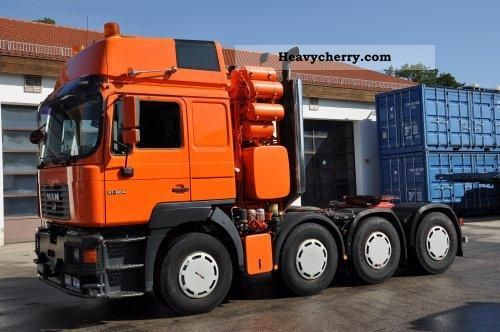 man    vfls  heavy load semi trailer photo  specs