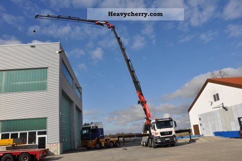 2010 MAN  TGS 35.400 8x4 Truck over 7.5t Truck-mounted crane photo