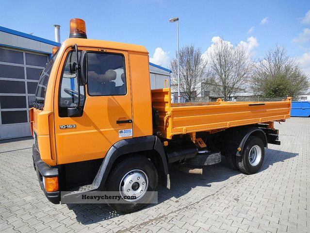 1999 MAN  10 163 3-Seiten-Kipper/ablastbar to 7.49 tons. Van or truck up to 7.5t Tipper photo