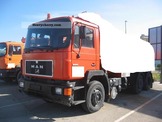 1992 MAN  25 272 SCHASIE ONLY! ONLY Chasie Truck over 7.5t Chassis photo