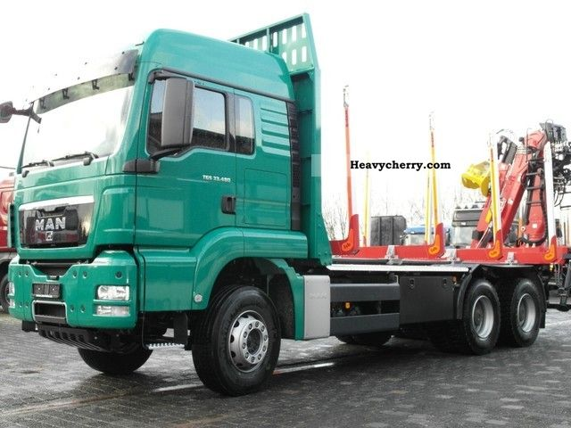 2011 MAN  TGS 33.480 6x4 BB stool Loglift intarder 115 Z Truck over 7.5t Timber carrier photo
