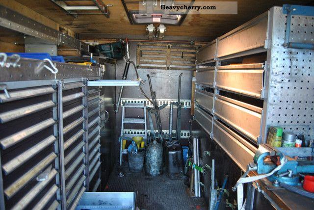 Man 19 342 F04 4x4 Wheel Air Mobile Workshop 1996 Box