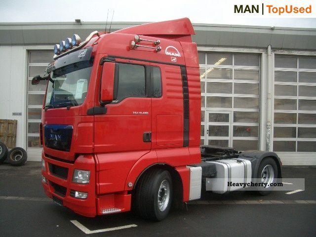 Man Tgx 18 480 4x2 Bls 2007 Standard Tractor Trailer Unit