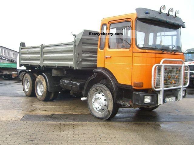 1996 MAN  26.361/372 6x4 tipper Truck over 7.5t Tipper photo