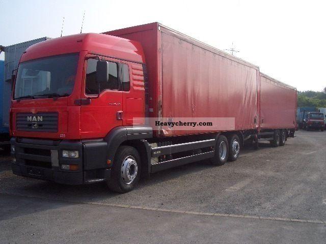 2003 MAN  26 413 Getränkezug Tademanhänger 2x LBW Truck over 7.5t Beverage photo