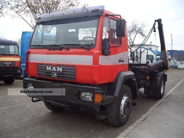 2003 MAN  Telescopic loader 4x2 18 285 € III Truck over 7.5t Dumper truck photo