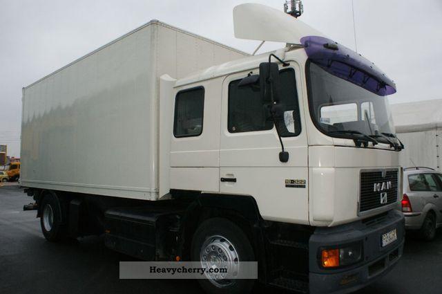 1992 MAN  19 322 Kontener Winda z. Stan bdb. Truck over 7.5t Other trucks over 7 photo