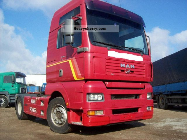 2001 MAN  TGA 18.410 XXL retarder circuit coupling Neu Semi-trailer truck Standard tractor/trailer unit photo
