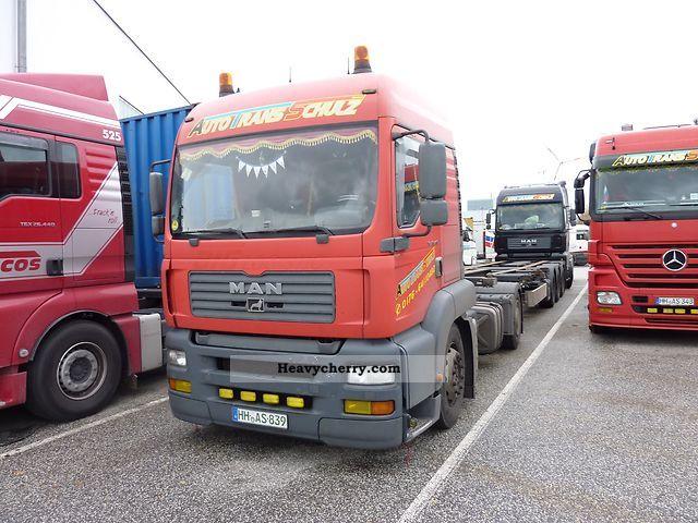 2003 MAN  TGA Semi-trailer truck Standard tractor/trailer unit photo