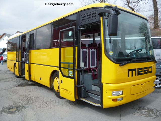 MAN A 01 / OL 313/353/363 / € 3, Air 2003 Cross country bus photo