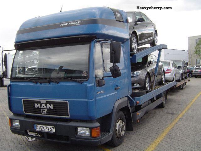2003 MAN  LE 220 incl.Hänger / NAVI / AIR / SSD / STHZ. Truck over 7.5t Car carrier photo