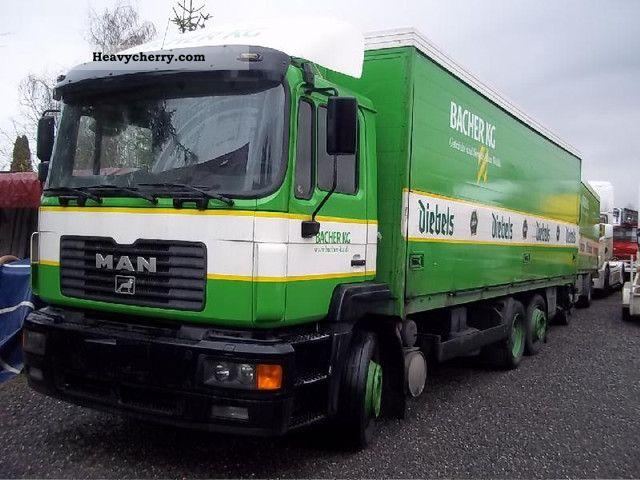 1997 MAN  26.293 6x2 Truck over 7.5t Beverage photo