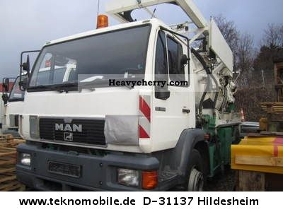 2000 MAN  18 284 4X2 ADR / ADR COMBINED SUCTION PRESSURE CAR Truck over 7.5t Vacuum and pressure vehicle photo