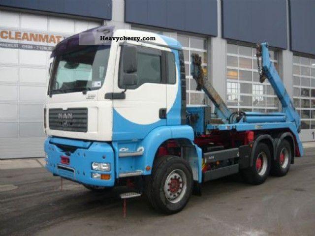 2004 MAN  TGA 26.430 6x4 Truck over 7.5t Dumper truck photo