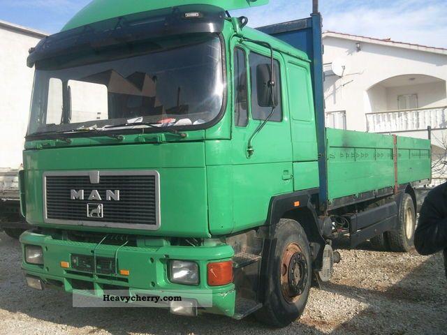1992 MAN  Blat blat + 19 422 (362 372 361 332) Truck over 7.5t Stake body photo