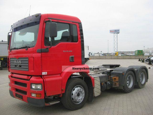 2003 MAN  26.460, 6x4, Euro 3, Kipphydr., Note! Site! Semi-trailer truck Heavy load photo