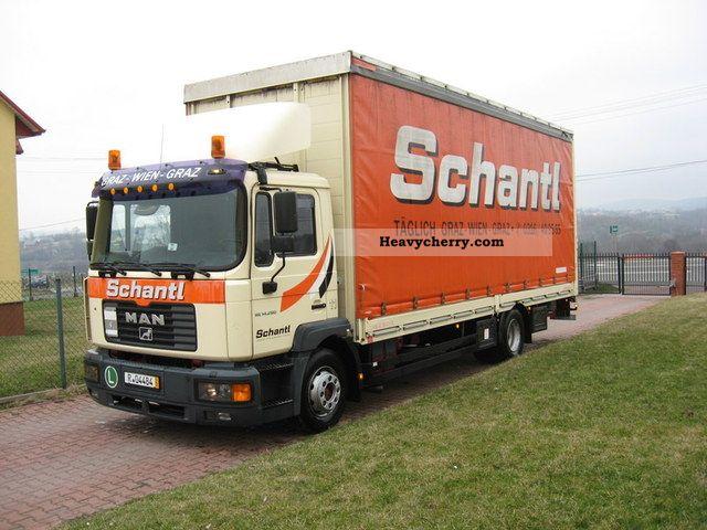 2003 MAN  MLC 14-280 Truck over 7.5t Stake body and tarpaulin photo