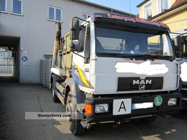 1998 MAN  18 264 Truck over 7.5t Dumper truck photo