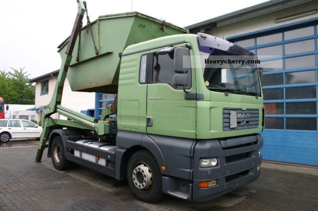 2003 MAN  TGA 18.360 4x2 XL Palfinger Teleskopabsetzkippe Truck over 7.5t Dumper truck photo