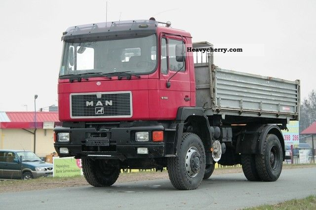 Man 19 422 4x4 Truck 1995 Tipper Truck Photo And Specs
