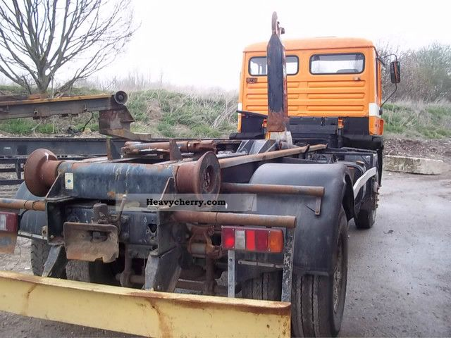 1992 MAN  FK 19 272, without a body coupling def. Truck over 7.5t Tipper photo