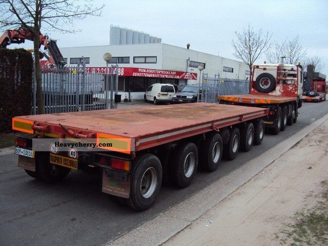 Man 41 464 8x4 180ton 2000 Stake Body Truck Photo And Specs