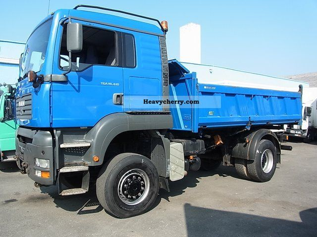 2003 MAN  TGA 18-410 wheel dump truck m.Bordmatic Truck over 7.5t Tipper photo