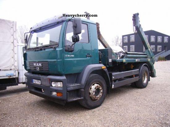 2005 MAN  L88 BL 18 280 4X2 MEILLER TELE-stacker Truck over 7.5t Dumper truck photo