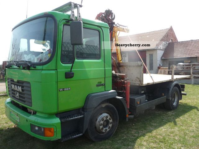 2000 MAN  MLC 14 224 4x2 Truck over 7.5t Roll-off tipper photo