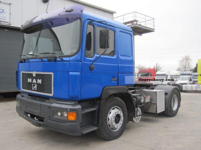 1992 MAN  19 422 Semi-trailer truck Standard tractor/trailer unit photo