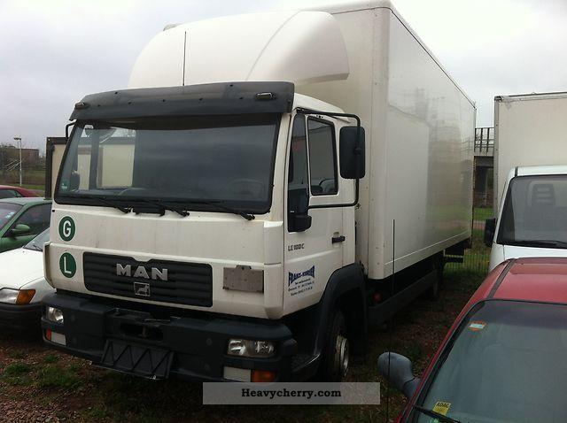 2002 MAN  L180 Truck over 7.5t Box photo
