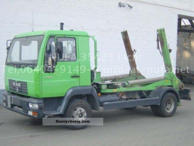 2002 MAN  LE 180 Truck over 7.5t Dumper truck photo